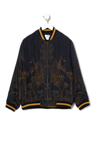 MENS BOMBER JACKET COBRA KING