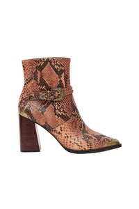 BLOCK HEEL BUCKLE BOOT TALES OF TALITHA