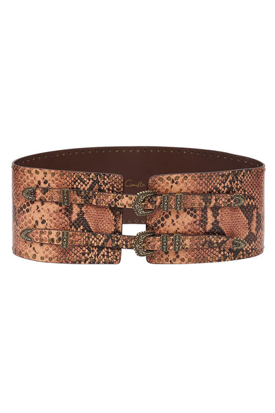WIDE DOUBLE BUCKLE  BELT TALES OF TALITHA
