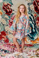 KIDS' KIMONO WRAP DRESS MISO IN LOVE