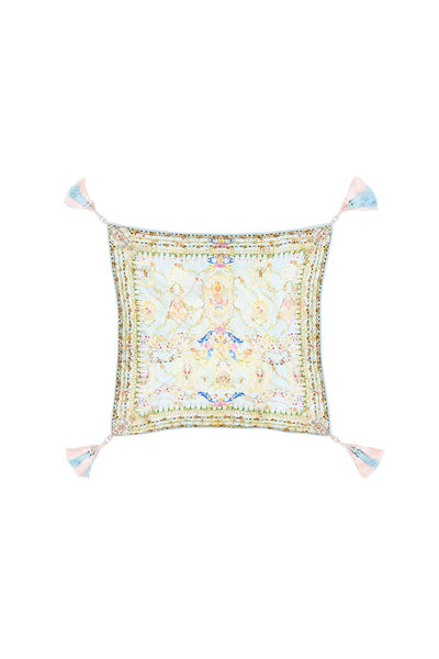 SMALL SQUARE CUSHION VERSAILLES SKY