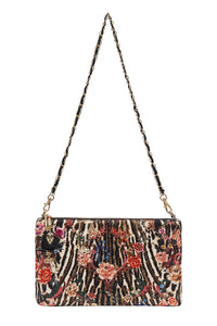 EMBELLISHED SATIN MINI BAG LIV A LITTLE
