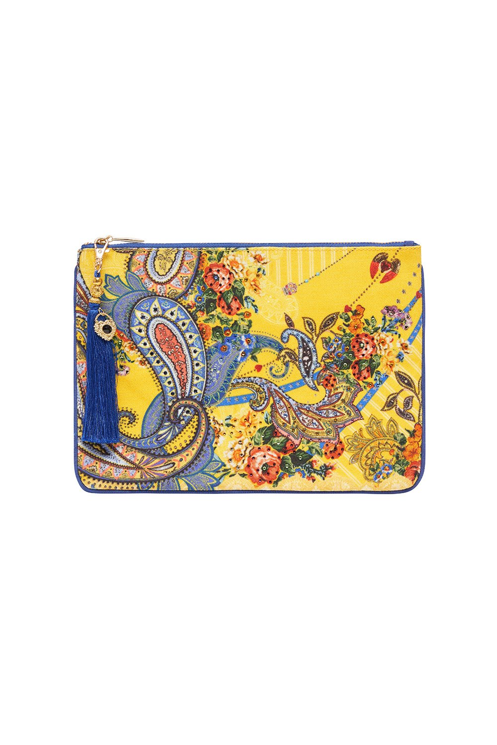 SMALL CANVAS CLUTCH OWN MUSE