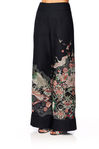 CAMILLA MIDNIGHT MOONCHILD JACQUARD TROUSERS