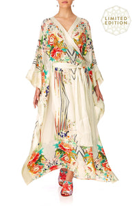 CAMILLA MS MAIKO CROSS OVER KAFTAN WTIE