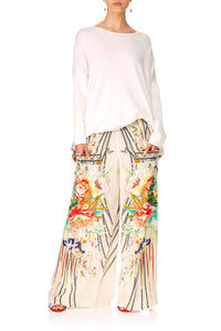 CAMILLA MS MAIKO WIDE LEG TROUSER W FRONT POCKETS