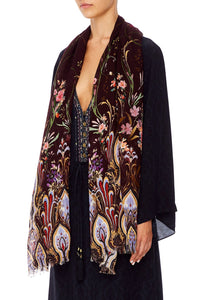 SOFT PRINTED SCARF WILD FLOWER