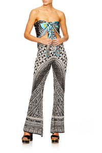 HANGING AROUND FLARED KNIT PANT