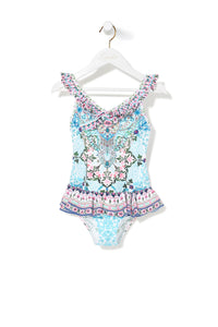 LOVERS RETREAT FRILL ONE PIECE