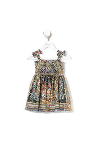 BABIES DRESS WITH SHIRRING OH CECILE