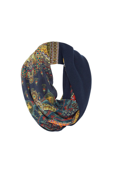 BLISS OF BOHEMIA DOUBLE SIDED SCARF