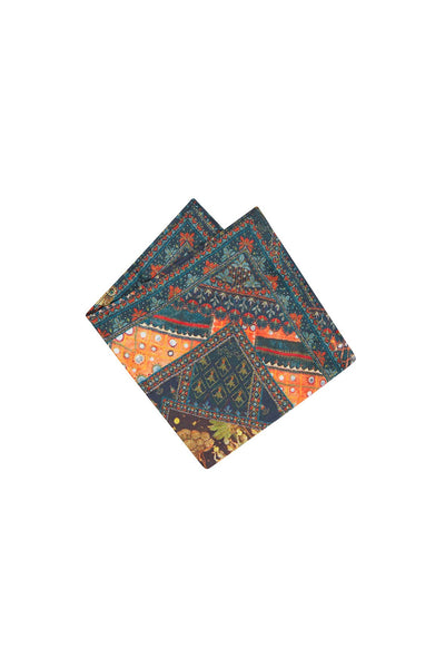 BLISS OF BOHEMIA POCKET SQUARE