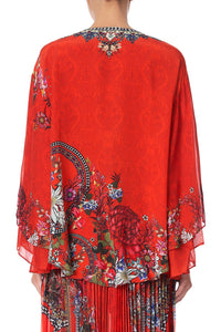 BLOUSE WITH DOUBLE SLEEVE WONDERING WARATH
