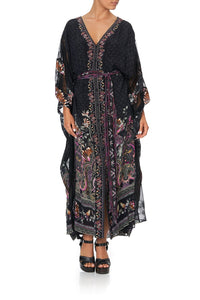 BUTTON UP KAFTAN WITH PANELS RESTLESS NIGHTS