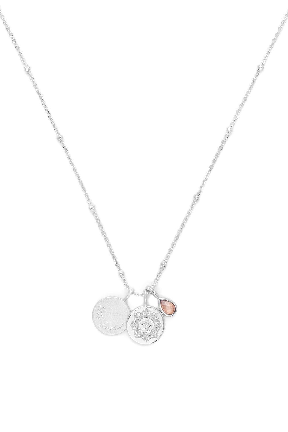 BY CHARLOTTE BEYOND SUN NECKLACE SILVER PLATED