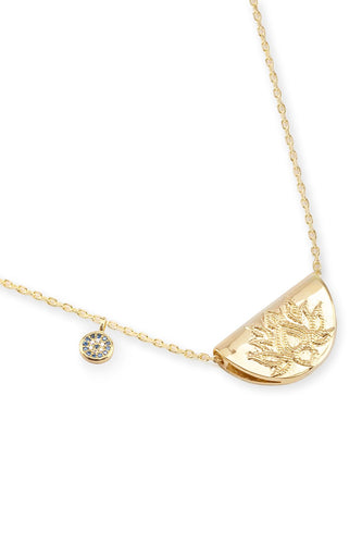 BY CHARLOTTE LOTUS LONG NECKLACE GOLD