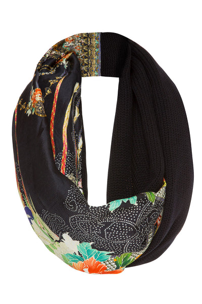 CAMILLA QUEEN OF KINGS DOUBLE SIDED SCARF