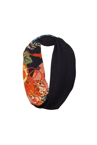 KISSING THE SUN DOUBLE SIDED SCARF