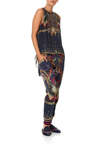 CAMILLA DRAWSTRING PANT WITH RIBBING THIS CHARMING WOMAN
