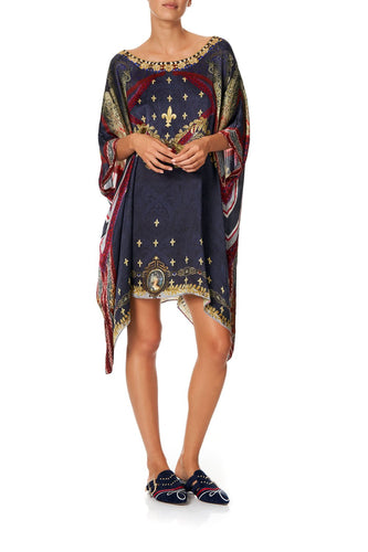 SHORT ROUND NECK KAFTAN THIS CHARMING WOMAN