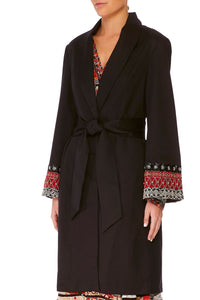 CAMILLA VINTAGE VIXEN FLARED SLEEVE TRENCH
