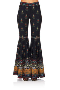 BLISS OF BOHEMIA FLARED TROUSER W SIDE POCKET