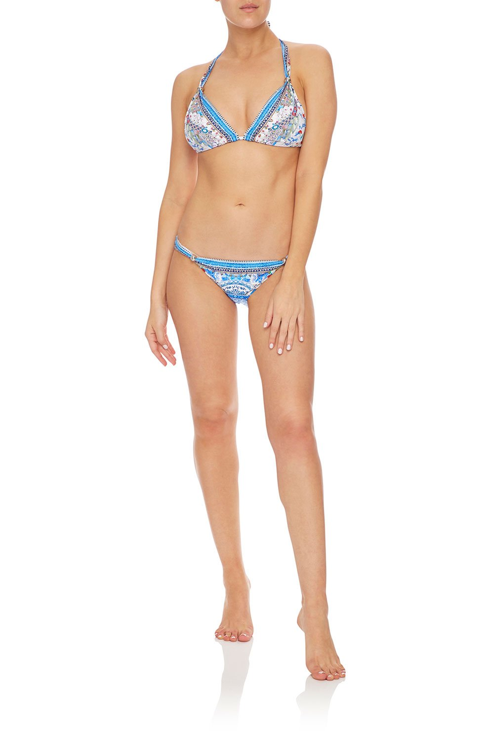 CAMILLA HALTER SLIDE TRI W/ TRIM GEISHA GATEWAYS