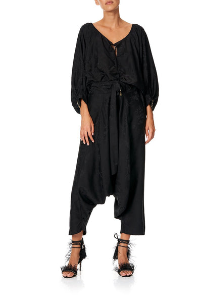 CAMILLA HAREM PANTS BLACK