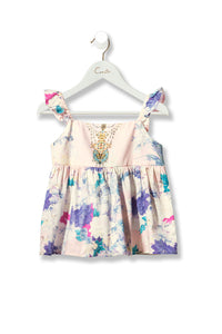 CAMILLA HARAJUKU HEIRESS KIDS FRILL STRAP TOP