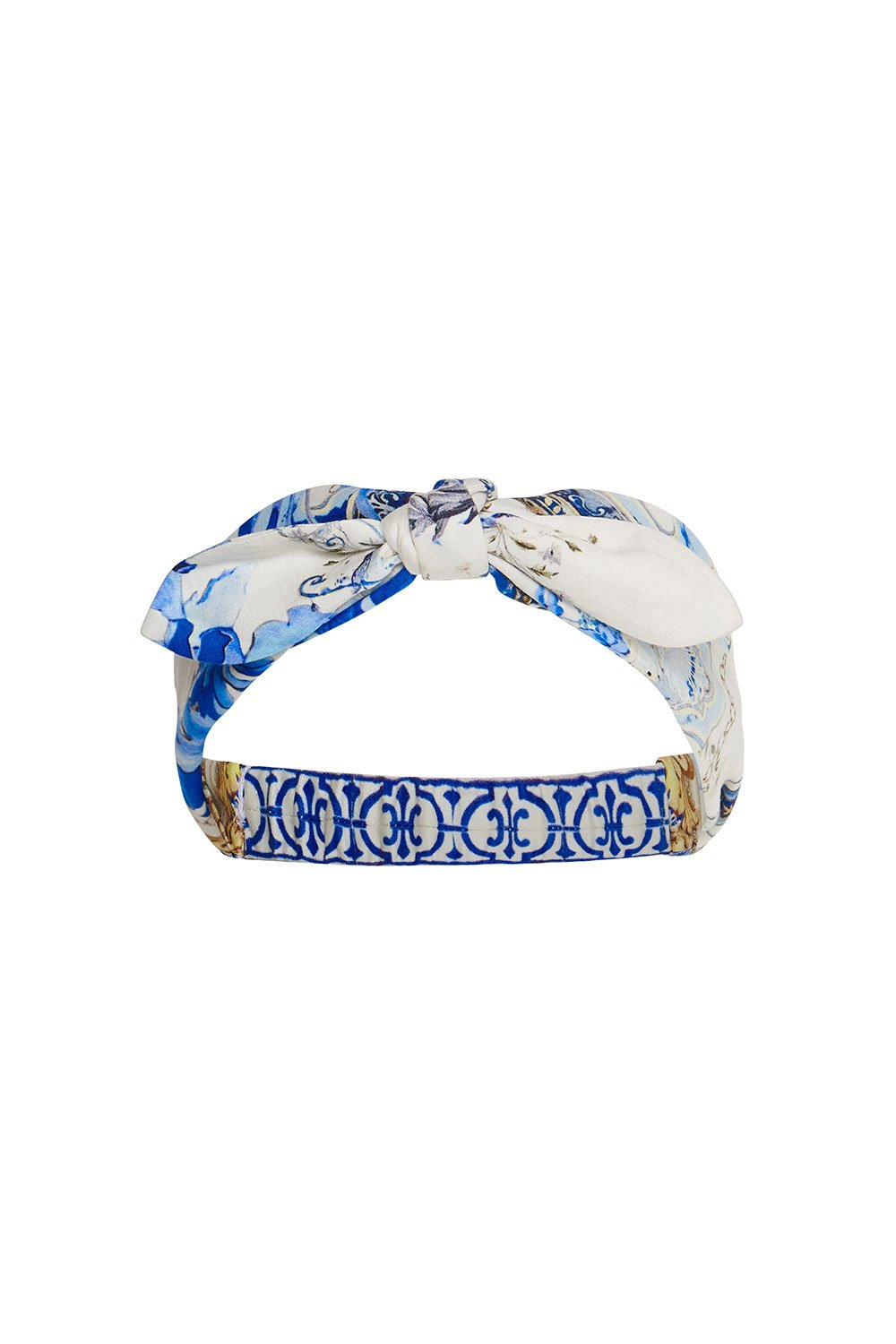 CAMILLA HEADBAND WITH TIE SAINT GERMAINE