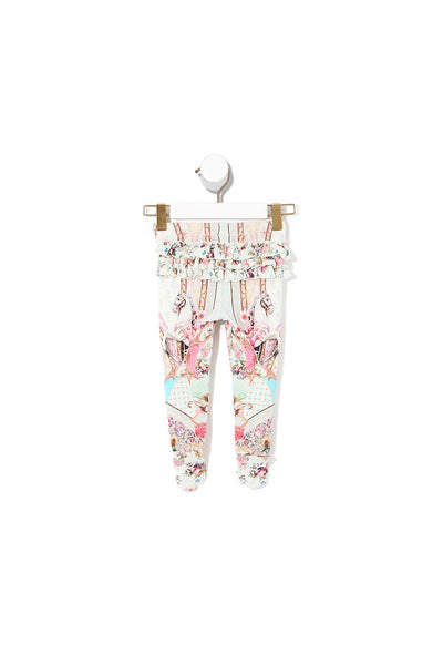 BABIES FOOTED LEGGINGS CAROUSEL MADEMOISELLE