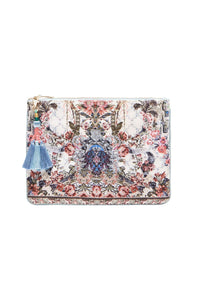 SMALL CANVAS CLUTCH SOUTHERN BELLE
