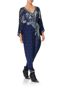 JERSEY BAT SLEEVE JUMPSUIT SOUTHERN TWILIGHT
