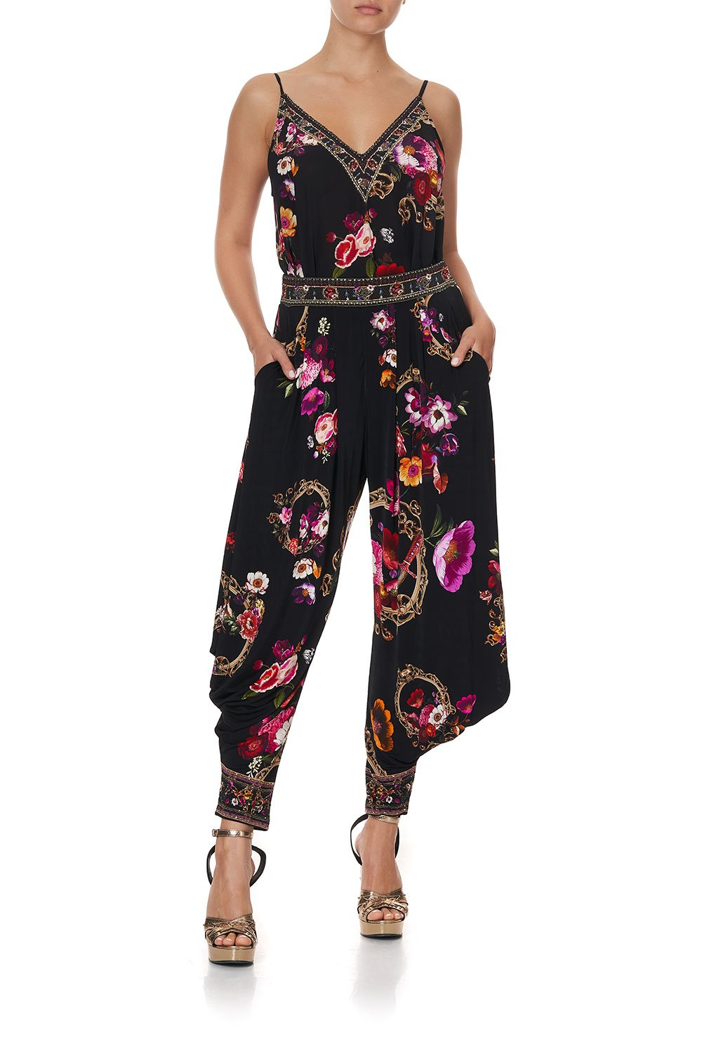 JERSEY DRAPE PANT WITH POCKET MIRROR MIRROR