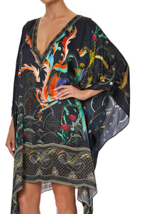 KAFTAN WITH BUTTON UP SLEEVES WISE WINGS