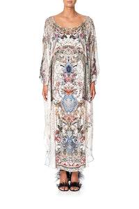 KAFTAN WITH PATCH PANELS SOUTHERN BELLE