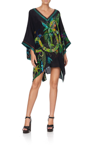 KAFTAN WITH SIDE WRAP RIVER CRUISE