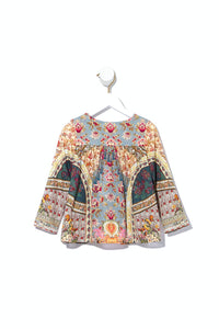 KIDS JACKET WITH SHIRRING JEANNE QUEEN