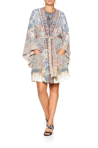 CAMILLA KIMONO WITH TIE BELT BLANCHES BLESSING