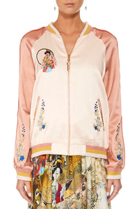 CAMILLA LADY LABYRINTH OVERSIZED BOMBER
