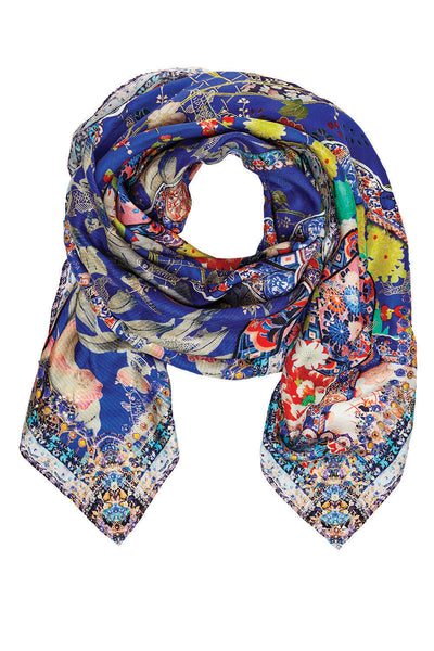 CAMILLA SATURN SISTER LARGE SQUARE SCARF