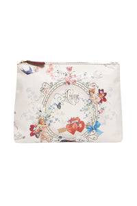 CAMILLA LARGE MAKEUP POUCH JARDIN POSTCARDS