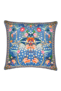 LARGE SQUARE CUSHION FARAWAY FLORALS