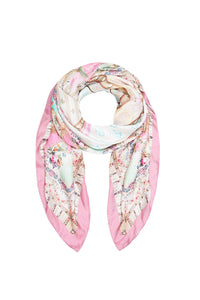 CAMILLA LARGE SQUARE SCARF CAROUSEL MADEMOISELLE