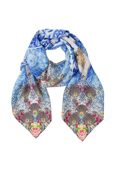 CAMILLA LARGE SQUARE SCARF GEISHA GATEWAYS