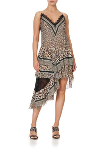 LAYERED ASYMMETRICAL DRESS SEX KITTEN