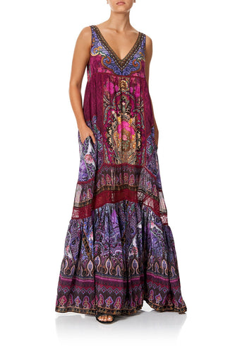 SPLICED MAXI DRESS DAUGHTER'S DESTINY