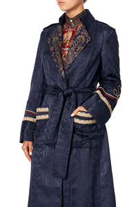 LONG MILITARY COAT THIS CHARMING WOMAN