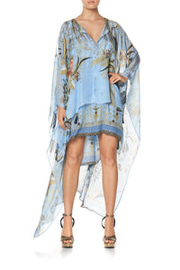 LONG SHEER OVERLAY DRESS FAIRY FOUNTAIN