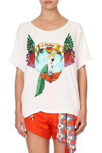 LOOSE FIT ROUND NECK TEE FARAWAY TREE
